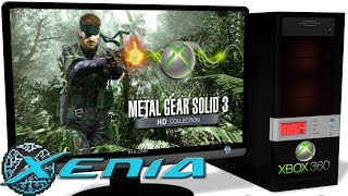 ᐅ Descargar MP3 de Xenia Xbox 360 Emulator Metal Gear 3