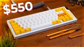 The Making of my $550 Custom Mechanical Keyboard!