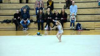 Elegance Cup 2016 Milena Krasnova 2008A free