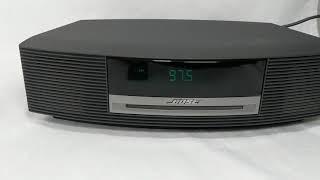 Bose Wave System AWRCC1 AM/FM Radio Alarm Clock CD Player W Remote Bad CD Player