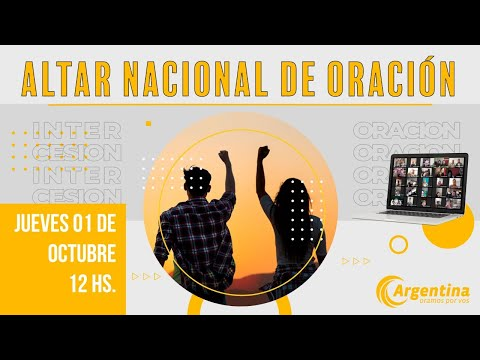 53. Altar Nacional de Oración | Jueves 01/10