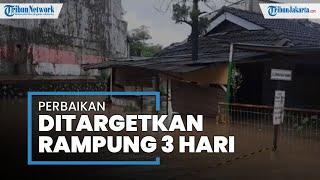 Perbaikan Tanggul Jebol oleh Kementerian PUPR di Perumahan PGP Bekasi Ditargetkan Rampung Tiga Hari