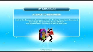 [The Sims Freeplay] - A Dance To Remember Görevi