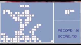Tetris game on C