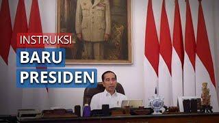 Instruksi Baru Presiden Jokowi, Tetapkan Darurat Sipil dan Pembatasan Sosial Skala Besar
