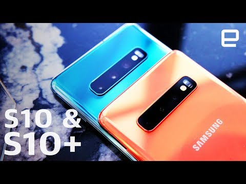 Samsung Galaxy S10 and S10+ Hands-On: Display and cameras take center stage