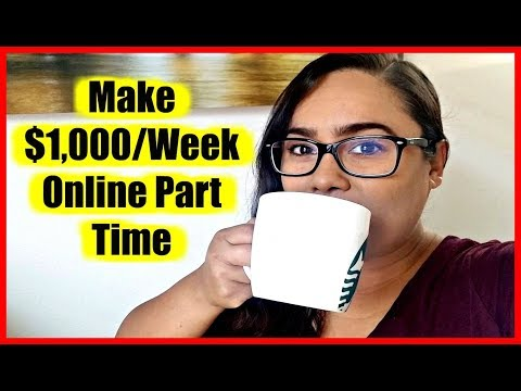 "How To Make Money Online 2018 ""Legit Ways To Make Money Online Fast'"