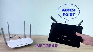 So fügen Sie einen NETGEAR-Router zu Ihrem Netzwerk hinzu (Access Point-Modus)