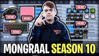 Mongraal's Fortnite Settings, Keybinds And Setup For Season 10 (UPDATED)