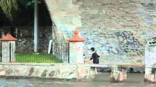preview picture of video 'La Crecida del Río en San Juan de los Lagos, Jalisco, el 11 de julio 2014'