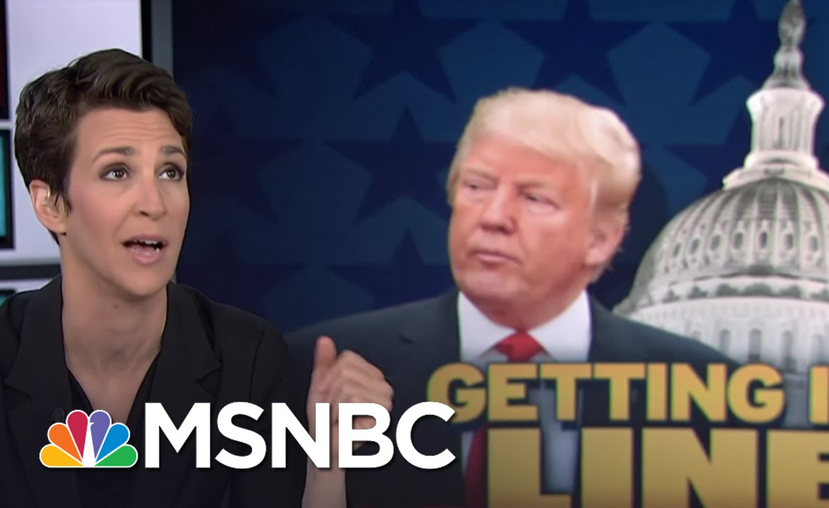 Republican Party Split Over Trump Is Made Up | Rachel Maddow | MSNBC thumbnail