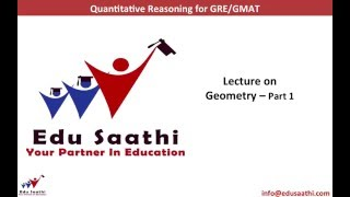 Geometry for GRE/ GMAT: (Part 1 of 5): Lines, Angles & Polygons