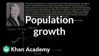 Thomas Malthus and Population Growth