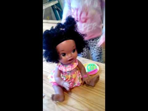 Baby Alive Super Snacks Snackin Sara Doll African