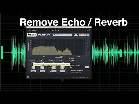 iOS App or AUv3 for Reverb Reduction Any suggestions
