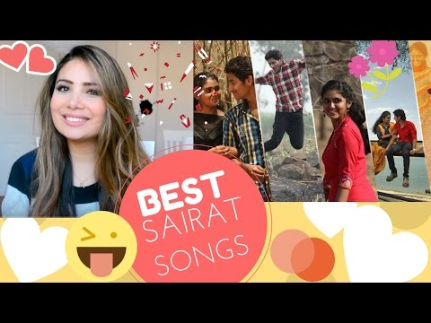 Sairat Songs Reaction Sairat Zhala Ji And Yad Lagla - Best Marathi Songs