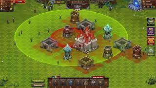 Битва за трон*перестройка города на начальных ур замка  8 ур