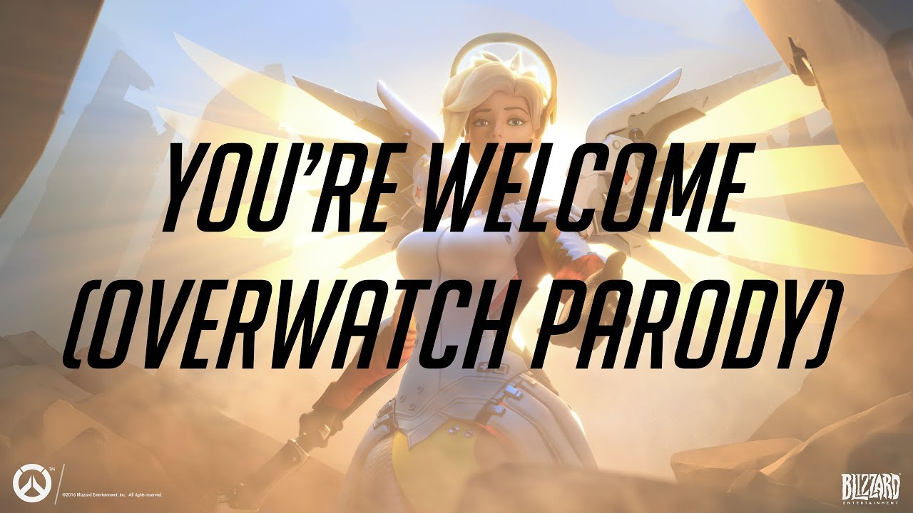 This Overwatch Parody Of Moana's Your Welcome Is Lovely