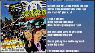 Aerosmith - Legendary Child (2012) with Lyrics
