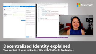 Verifiable Credentials Using Blockchain   Digital Identity   Microsoft Ignite 2020
