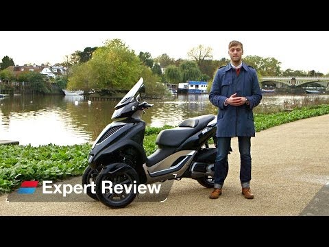 2013 Piaggio MP3 Yourban bike review