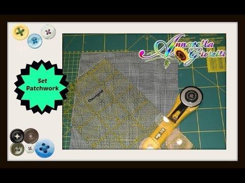 Il mio set patchwork taglio e cucito | Casa Cenina