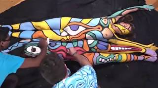 World Bodypainting Festival -  Annual Bodypainting Day 2016 - 2017, Austria Camera HD 2017