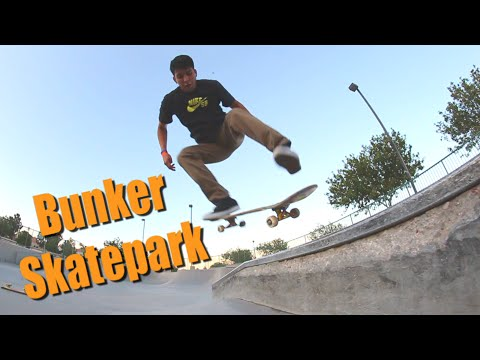 Bunker Skatepark with Black Ninja and SwellBows