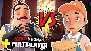 👨🏻 SĄSIAD vs DZIECIACZKI! - HELLO NEIGHBOR MULTIPLAYER #4/w ekipa