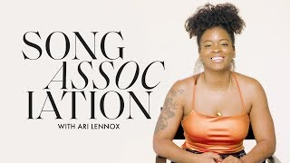 Ari Lennox Sings Rihanna, B2K and John Legend in a Game of Song Association | ELLE