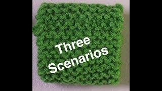 Grafting Garter Stitch Fabric - Three Scenarios // Technique Tuesday
