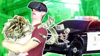 WE STOLE $1,011,630 + GOT CHASED BY POLICE IN VR! - Payday 2 VR HTC VIVE Gameplay