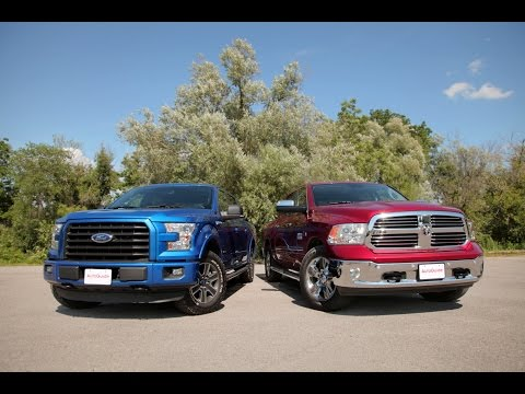 2015 Ford F-150 2.7L EcoBoost vs. 2015 Dodge Ram 1500 EcoDiesel Comparison