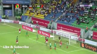 ملخص مباراة مصر والمغرب  وتاهل مصر  هدف كهرباااااا