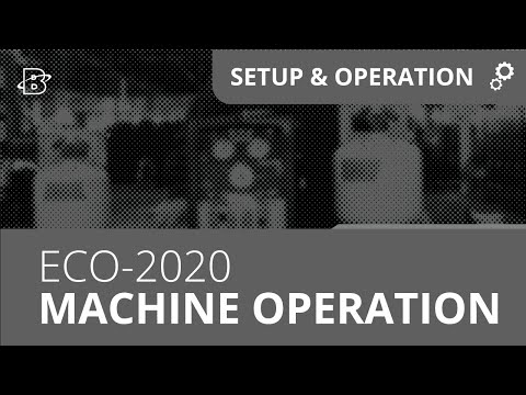 ECO-2020 | Refrigerant Recovery Machine Operation