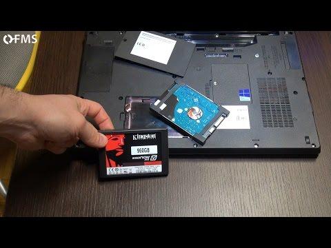 Come sostituire HDD con SSD in un portatile (notebook Fujitsu, V310) [FMS risponde #5]