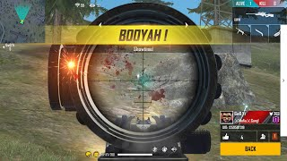 Sniper Only ( Kar98 AWM M82B ) Challenge - Free Fire - Desi Gamers