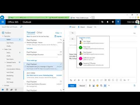 Office 365 Mail - First Steps