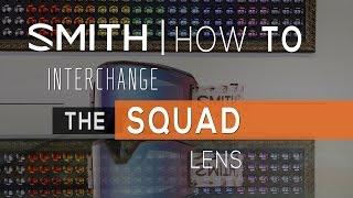 How to Change SMITH Squad Lenses | SportRx