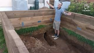 Part 7: Building A KOI Pond For Begginers 4mts X 2.2mts  Lockdown Project