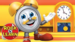 Learn to Tell Time on a Clock | Analog Clock Practice for Kids | Rock 'N Learn