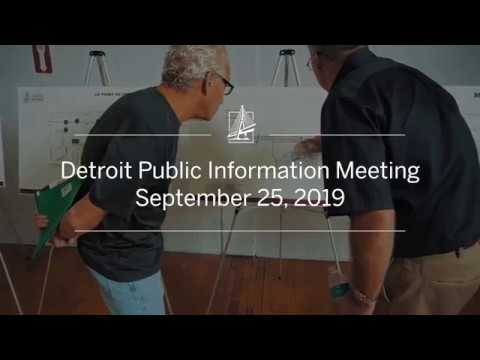 Detroit Public Information Meeting | September 25, 2019