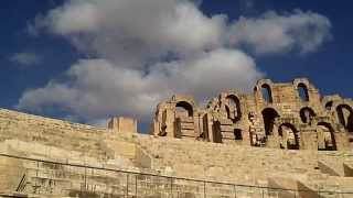 preview picture of video 'HD video filmed in El Djem (El Jem) at this wonderful Roman amphitheatre in Tunisia'