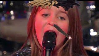 6 YEAR OLD SINGS XXXTENTACION YUNG BRATZ ON AMERICA GOT TALENT!