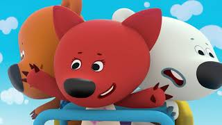 BE BE BEARS | Episode 43 | roller coaster HD Cartoons for kids | Kedoo ToonsTV