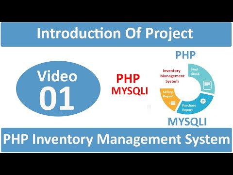 introduction of php inventory management system