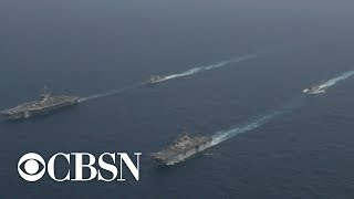 Iran denies U.S. shot down drone over Strait of Hormuz