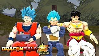 Dragonball Super Friends: The Saiyan Gang