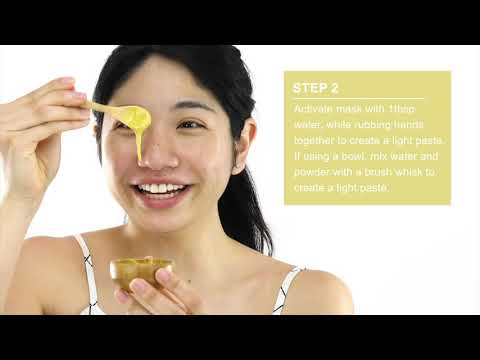 Application - Vitamin C Mask