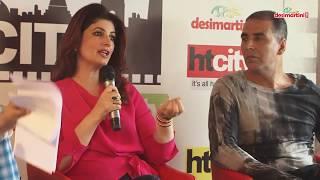 स्टारवार विद अक्षय कुमार एंड ट्विंकल खन्ना || पैड मैन प्रमोशन्स || दिल्ली ||
